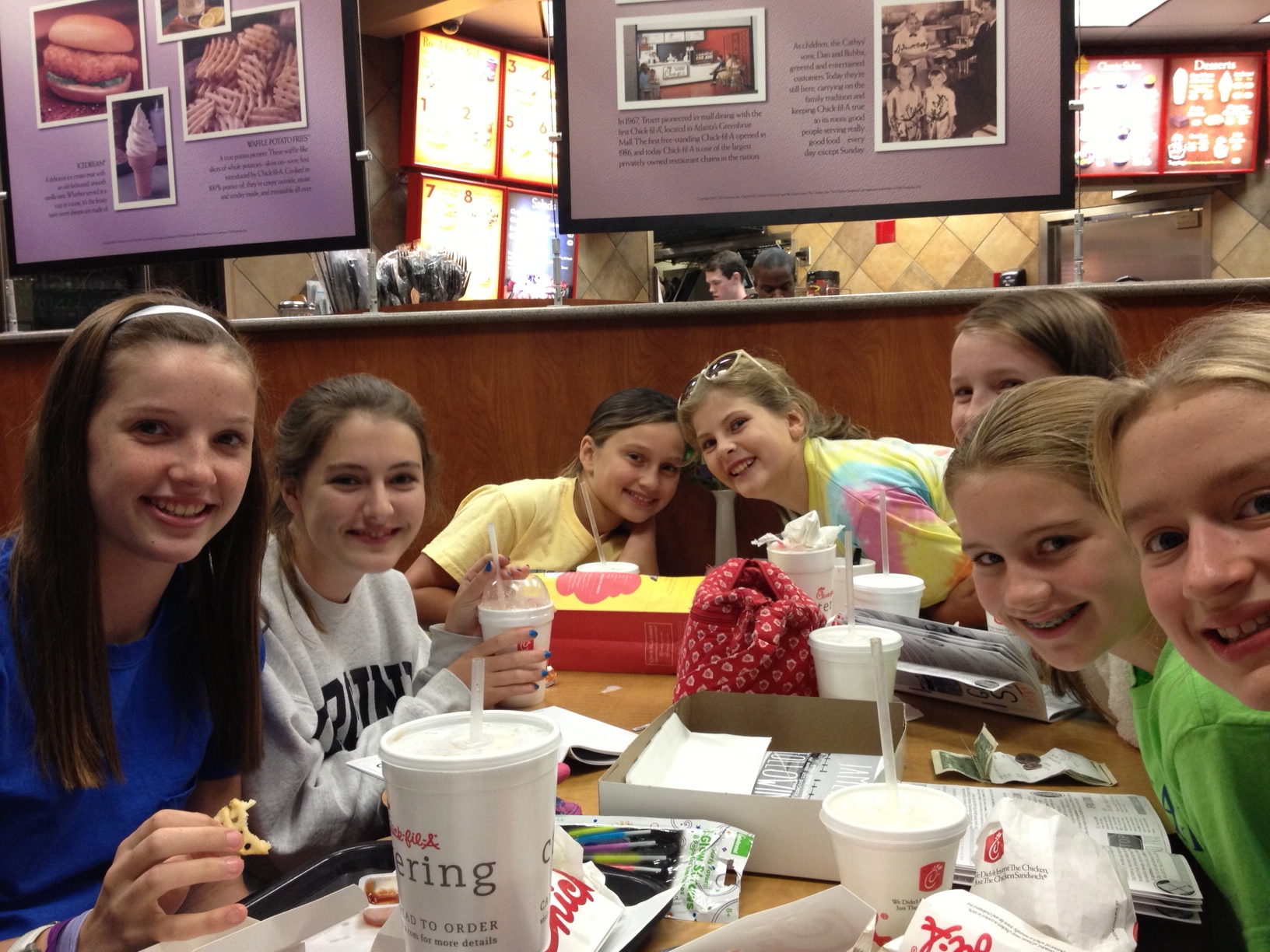 James for GIRLS at Chick-FIl-A in Atlanta