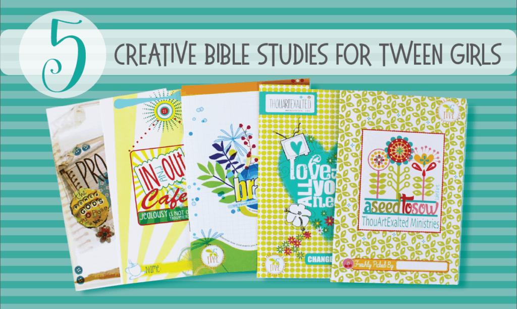 Five creative bible studies