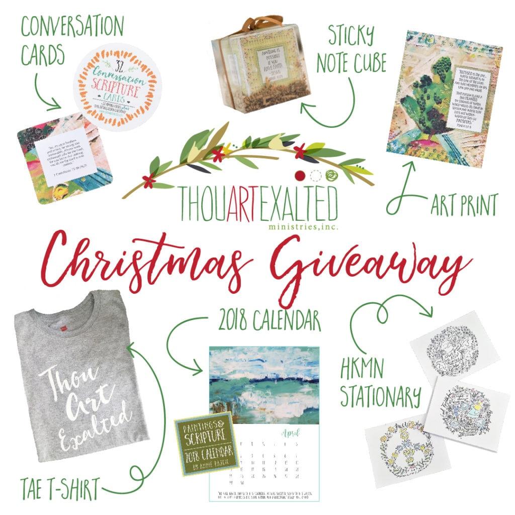 Christmas giveaway 1